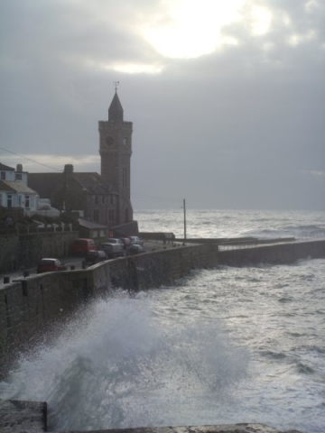Winters day Porthleven